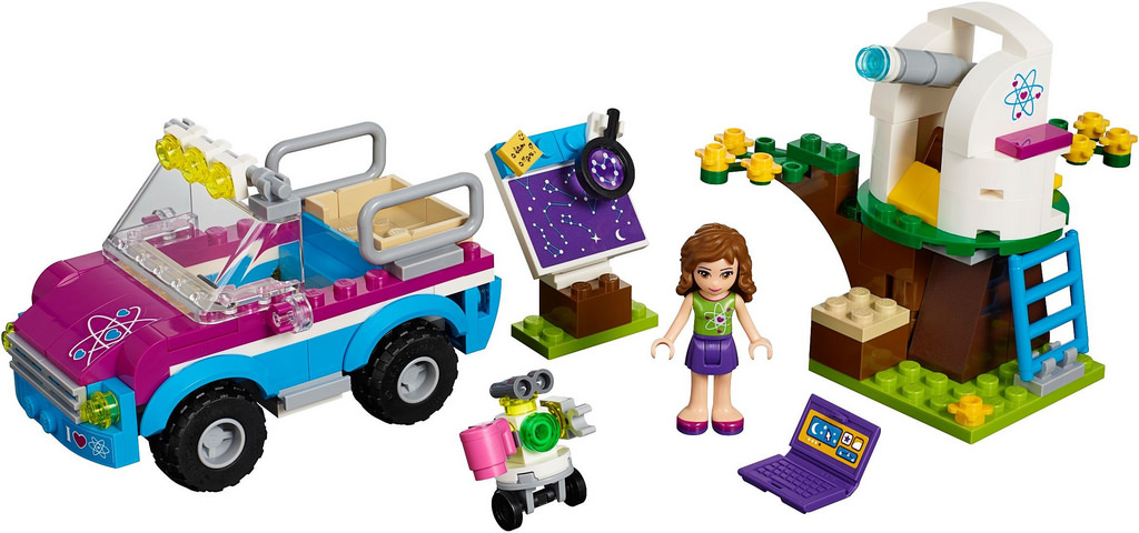 how to open the chest on lego friends