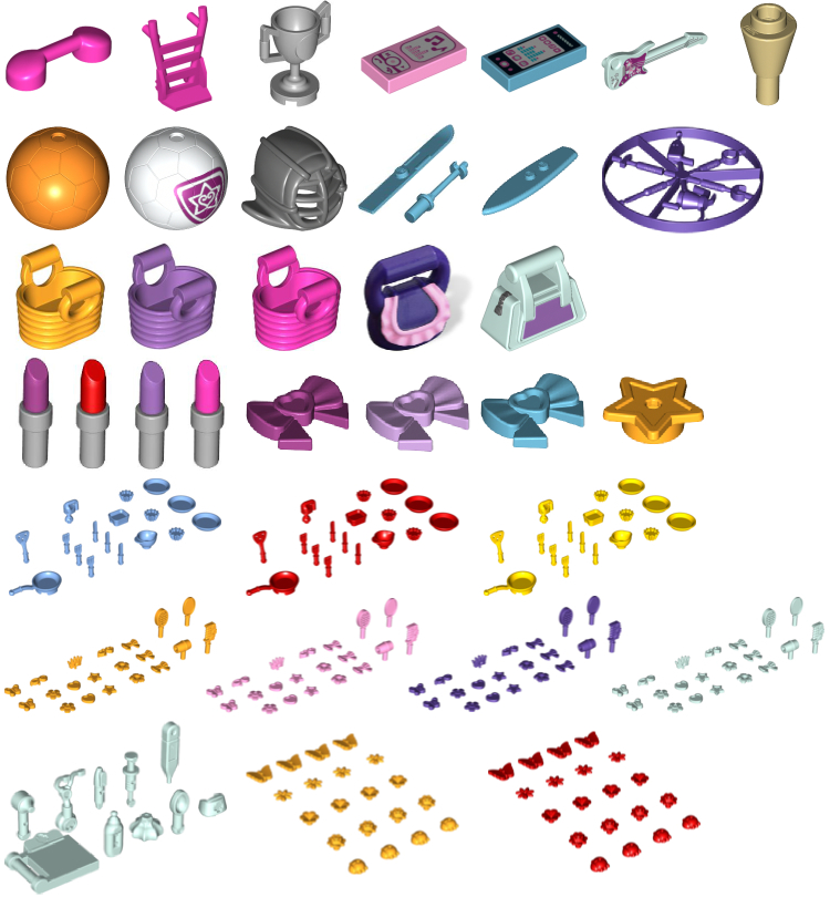 LEGO Friends accessories