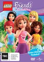 LEGO Friends: New Girl in Town DVD