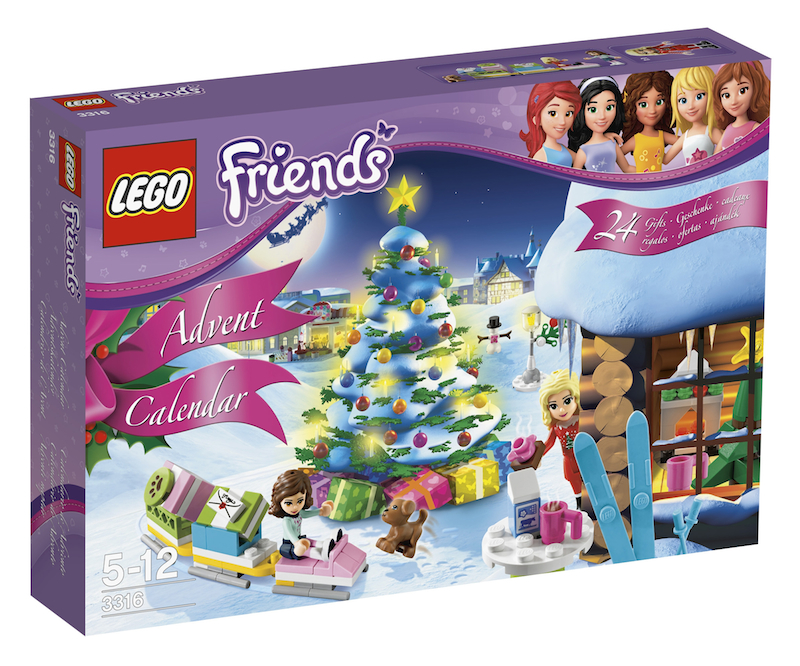 LEGO Friends 2012 Advent Calendar #3316