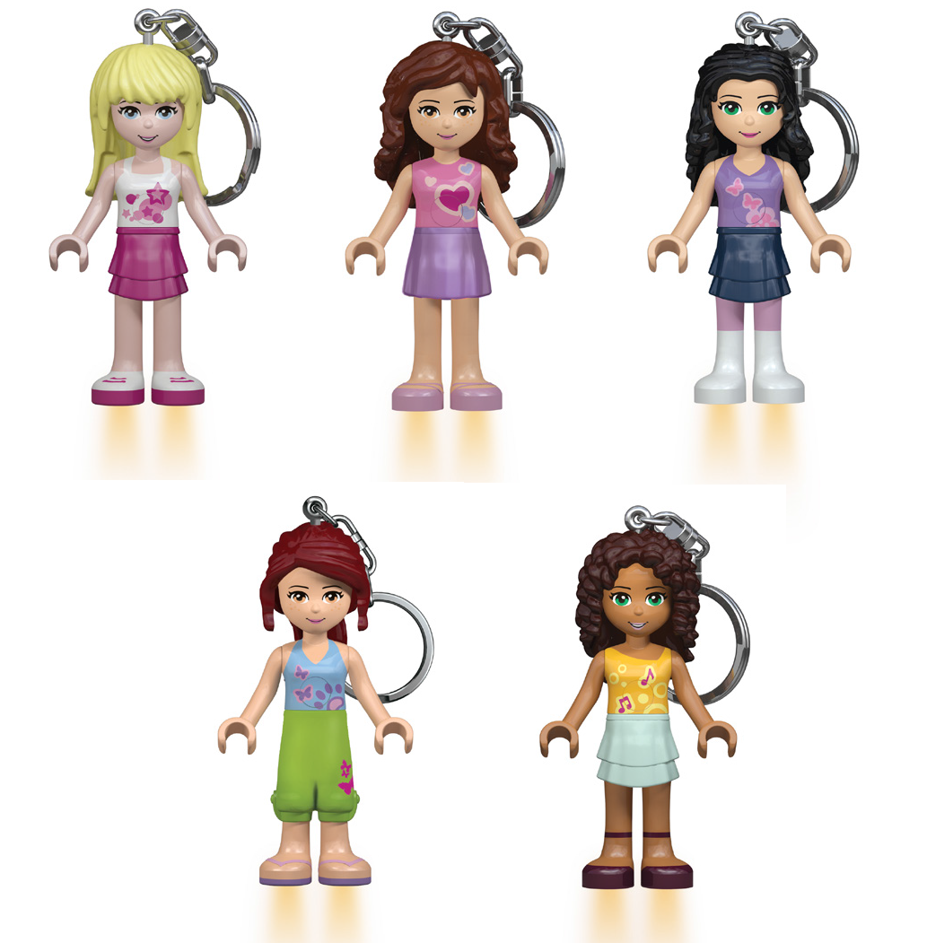 LEGO Friends LED Light bag charms
