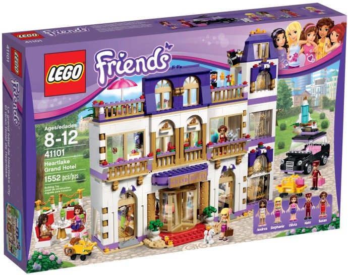 LEGO Friends Heartlake Grand Hotel - 41101 - box front