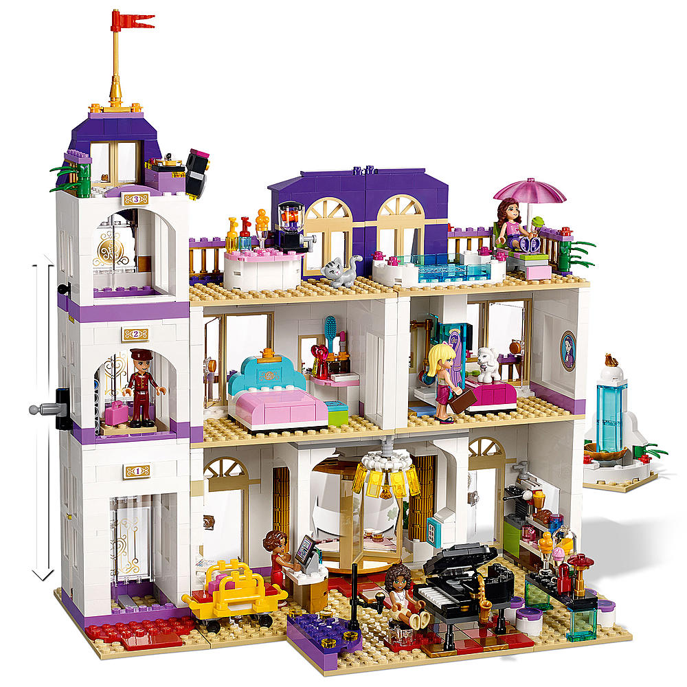 LEGO Friends Heartlake Grand Hotel - 41101 - inside