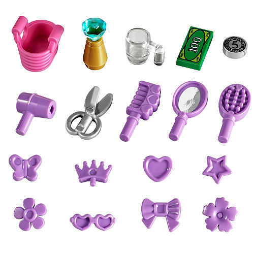 LEGO Friends Heartlake Hair Salon accessories