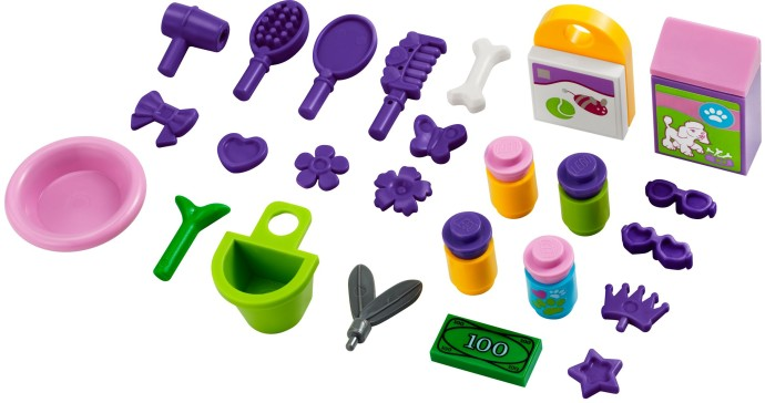 LEGO Friends Heartlake Pet Salon accessories