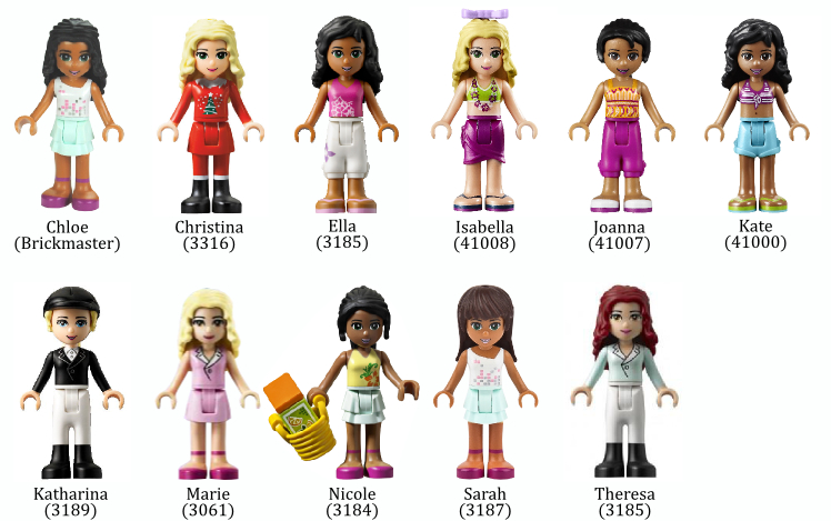 LEGO Friends Mini-Dolls