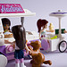 Sandwich and ice cream carts by IcedPlusCoffee