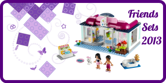 LEGO Friends sets 2013