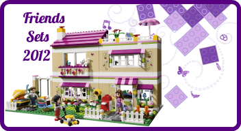 LEGO Friends sets 2012