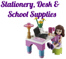 LEGO Friends Stationery, Desk & School Supplies