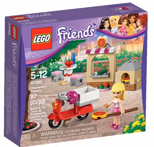 LEGO Friends Stephaie's Pizzeria 41092