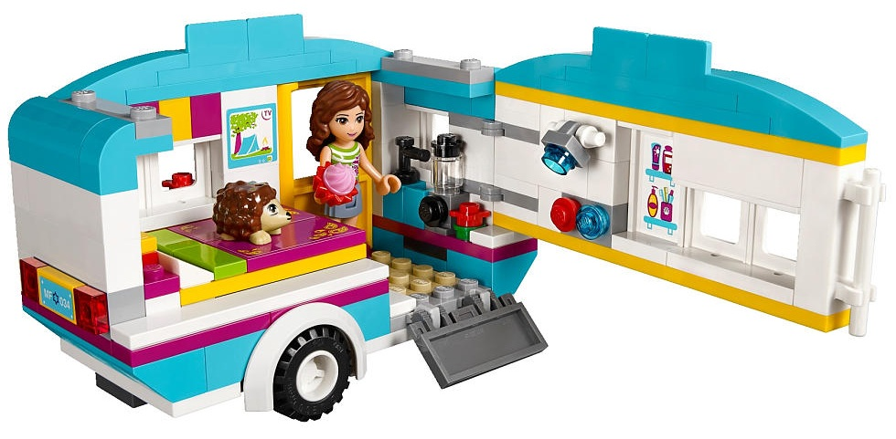 Friendsbricks lego friends sets summer 2014 - Lego brick caravan a record built piece by piece ...