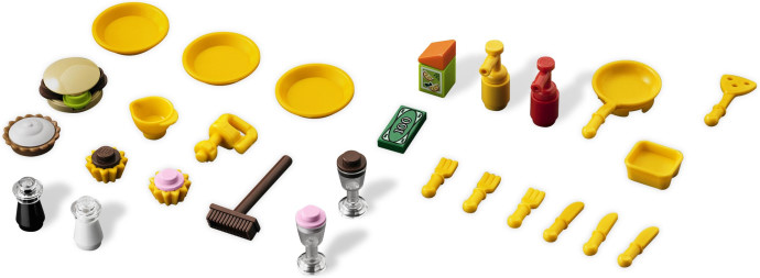 LEGO Friends City Park Cafe accessories