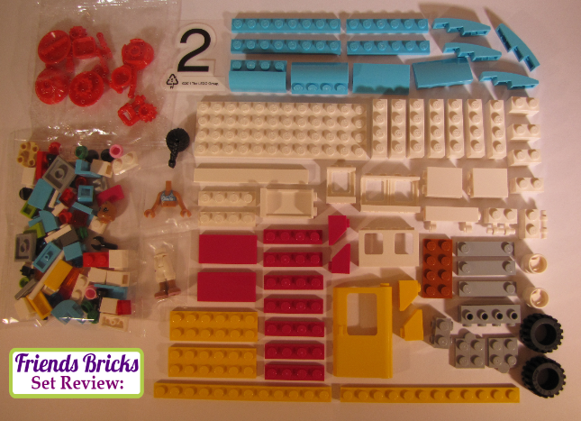 Friends bricks summer caravan review 41034 - Lego brick caravan a record built piece by piece ...