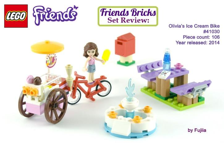 LEGO Friends Olivia's Ice Cream Bike Review #41030