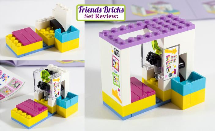 A simple build with just the right amount of Lego Technic parts to make something happen\u2026 & Friends Bricks | Heartlake Shopping Mall Review