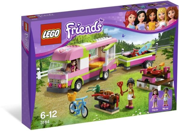 LEGO Friends Adventure Camper #3184