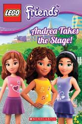 LEGO Friends book Andrea Takes the Stage