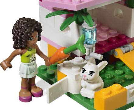 LEGO Friends Andrea's Bunny House #3938