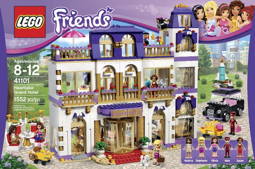Friends Bricks Heartlake Grand Hotel 41101