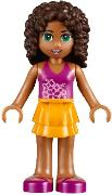 LEGO Friends Andrea from Heartlake Juice Bar #41035