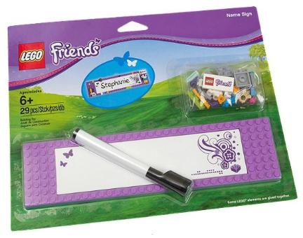 LEGO Friends Name Sign kit