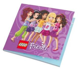 LEGO Friends notepad