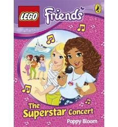 LEGO Friends book The Superstar Concert