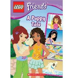 LEGO Friends book A Puppy Tale