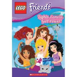 LEGO Friends book Lights, Camera, Girl Power