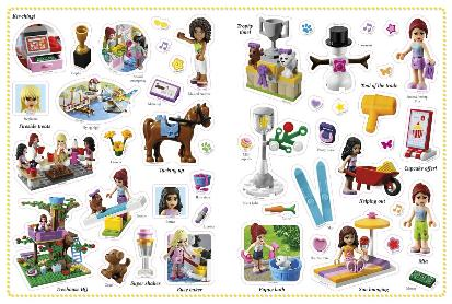 LEGO Friends DK Ultimate Sticker Book