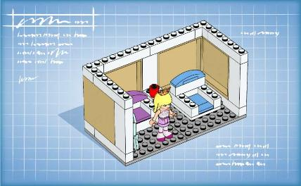 Friends bricks lego friends building instructions for How to build a brick house step by step pdf